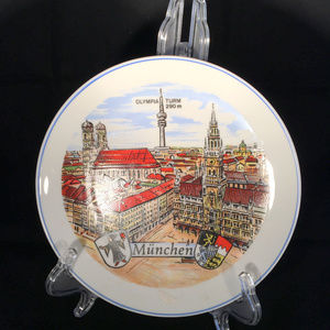 Olympic Olympia 1972 Germany Plate